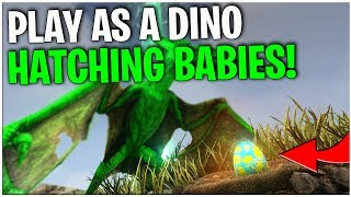 PLAY AS A DINO! BREEDING! | ARK: Survival Evolved | Ep1