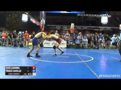 160 Cons. Round 7 - Trace Carello (Illinois) vs. Jake Lanning (Illinois)