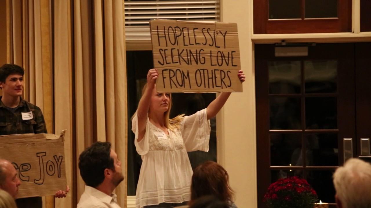Cardboard Testimonies - Wheaton Young Life Banquet 2016