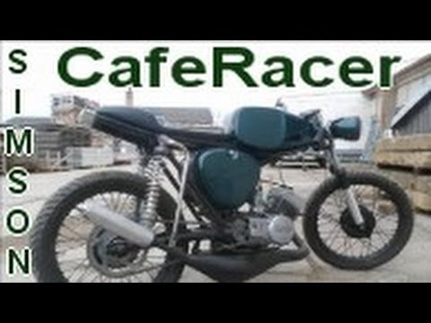 simson s50 cafe racer retro tuning umbau 70ccm oldschool s51 s70 s53 youtube. Black Bedroom Furniture Sets. Home Design Ideas