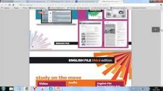 Обзор учебника по английскому New English File 3rd edition Pre Intermediate