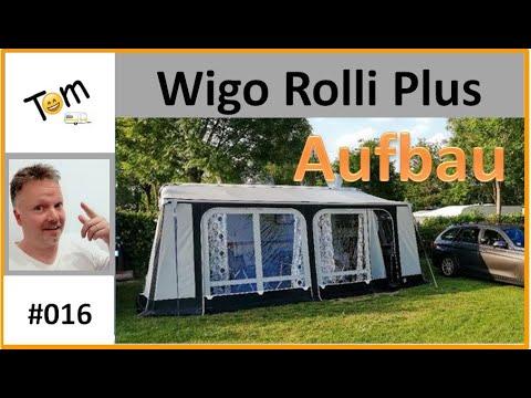 #016 Aufbau Wigo Rolli Plus / Wohnwagen TOM