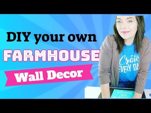 DIY a Farmhouse Wall Decor // Chalk Couture VW Bug