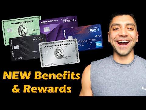 American Express Offers NEW BENEFITS & BETTER REWARDS: $550 Restaurant Credit | Michael Mak