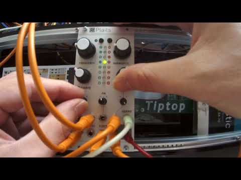 Mutable Instruments Plaits 12/30 : granular formant oscillator
