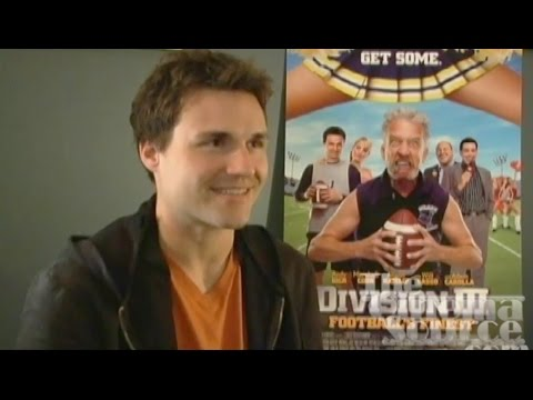Marshall Cook Exclusive Interview for the movie Division III: Football's Finest