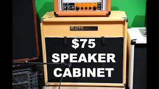 GUITAR TONE - $75 Seismic Birch Speaker Cabinet - 1 x 12
