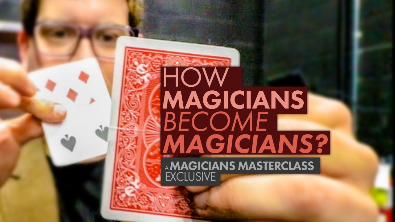 Magic Tricks and a career. How magicians become magicians - YouTube