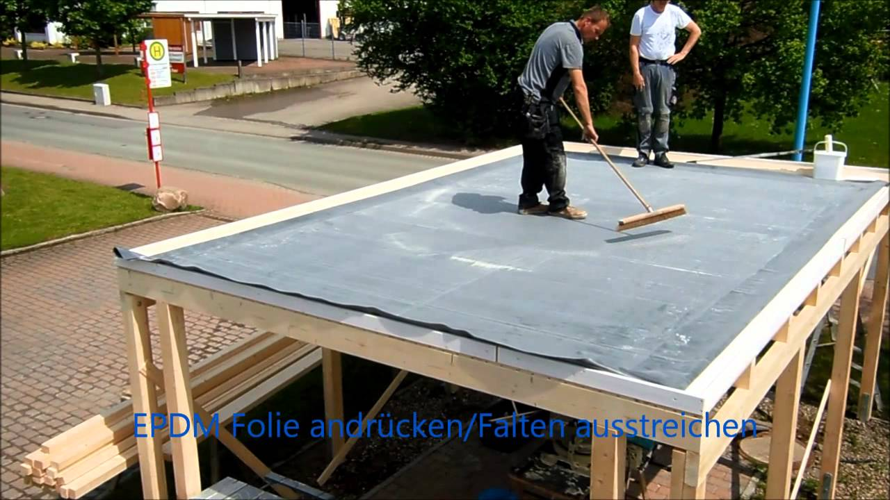 dachprotect es epdm i dach erstellen youtube. Black Bedroom Furniture Sets. Home Design Ideas