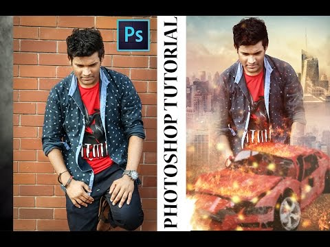action movie poster design in photoshop tutorial by  SM  Creation