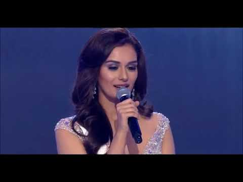 Miss World 2017 Top 5 Questions and Answer (Q & A )