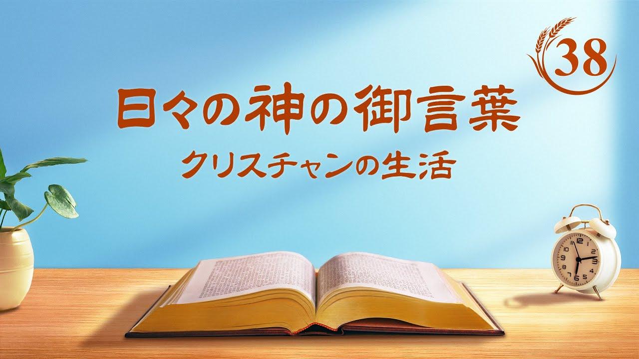 日々の神の御言葉「神の働きのビジョン(2)」抜粋38
