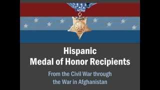 Hispanic Medal of Honor Recipients Presentation
