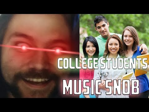 Music Snob DESTROYS College Kids with facts and logic | Mike The Music Snob