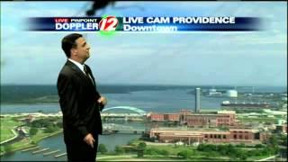 WPRI 12 News Weather Blooper - Tony Petrarca