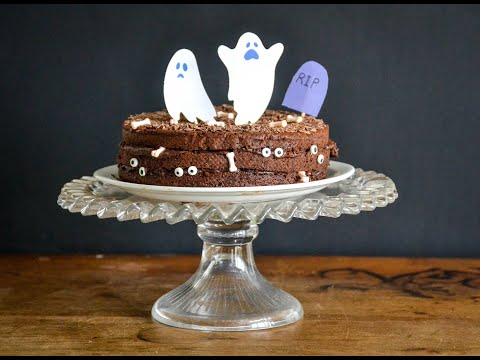 gâteau-halloween-au-chocolat