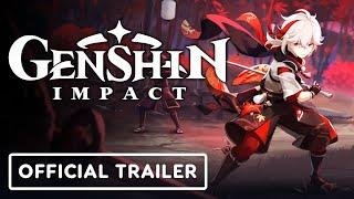 Genshin Impact - Official Kaedehara Kazuha Character Teaser Trailer