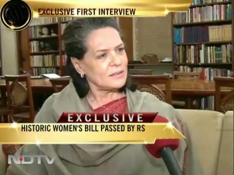 Sonia Gandhi speaks