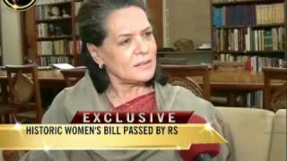 Sonia Gandhi speaks exclusively to NDTV
