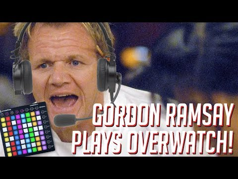 Gordon Ramsay Plays OVERWATCH! Soundboard Pranks in Competitive!