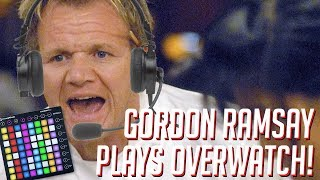 Gordon Ramsay Plays OVERWATCH! Soundboard Pranks in Competitive!