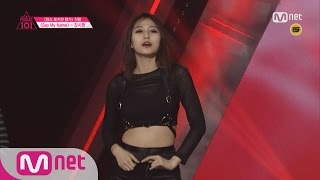 [Produce 101] 1:1 EyecontactㅣKang Siwon - ♬SAY MY NAME @ Position Eval.(DANCE) EP.07 20160304