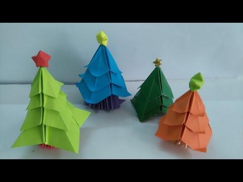 Origami Tree - Origami Christmas Tree