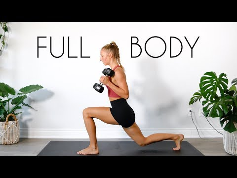 10 MIN FULL BODY DUMBBELL At Home Workout