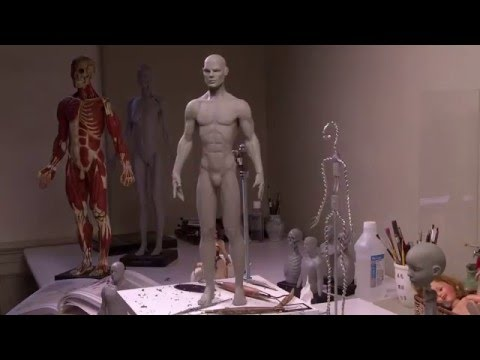 Sculpting Time Lapse - Robert Tonner - Tonner Doll Co.