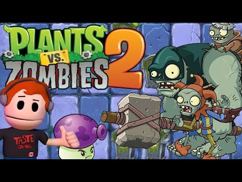 PLANTS VERSUS ZOMBIES 2 - SOME PRETTY SWEET ITEMS IN THE DARK AGES | PVZ2