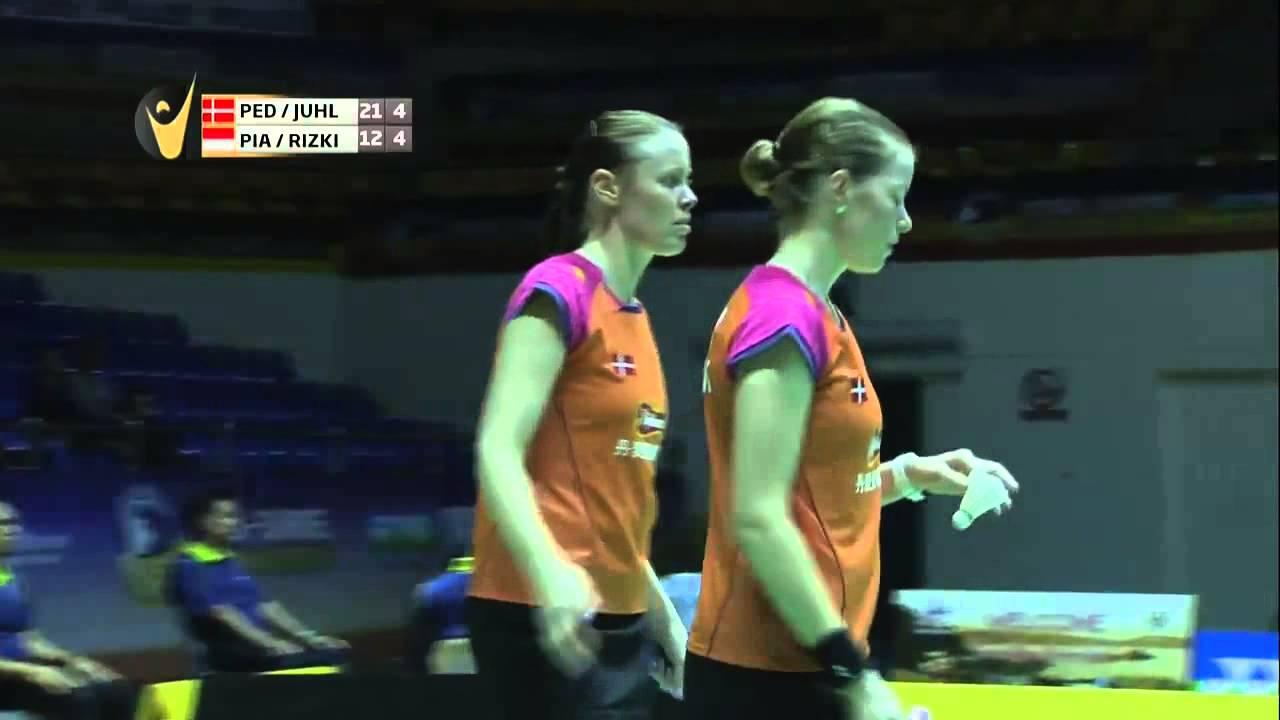 SF 2015 Malaysia Masters Christinna Pedersen Kamilla Rytter