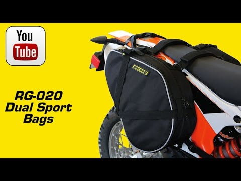 99fc4415bc56 Rigg Gear RG 020 Dual Sport Saddlebags - YouTube