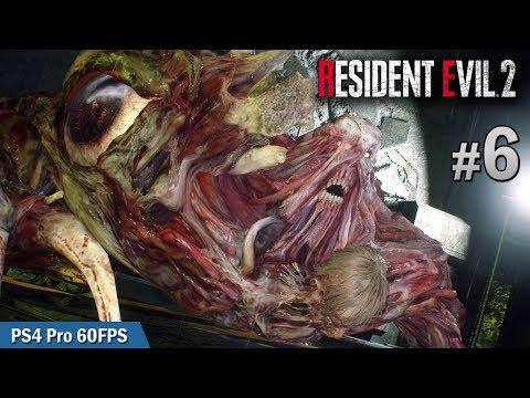 #6 下水道拯救行動 | Biohazard RE:2  (Resident Evil 2 remake) PS4 Pro 60 FPS