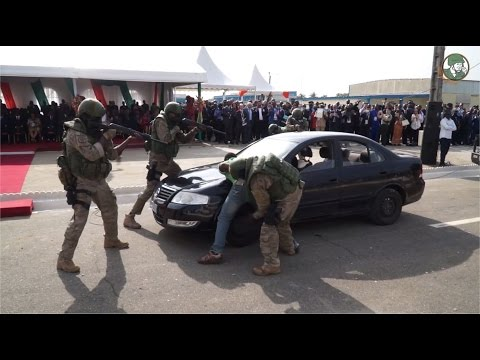 ShieldAfrica 2017 Security & Defence Exhibition Abidjan Côte d'Ivoire Show Daily News Video TV Day 1