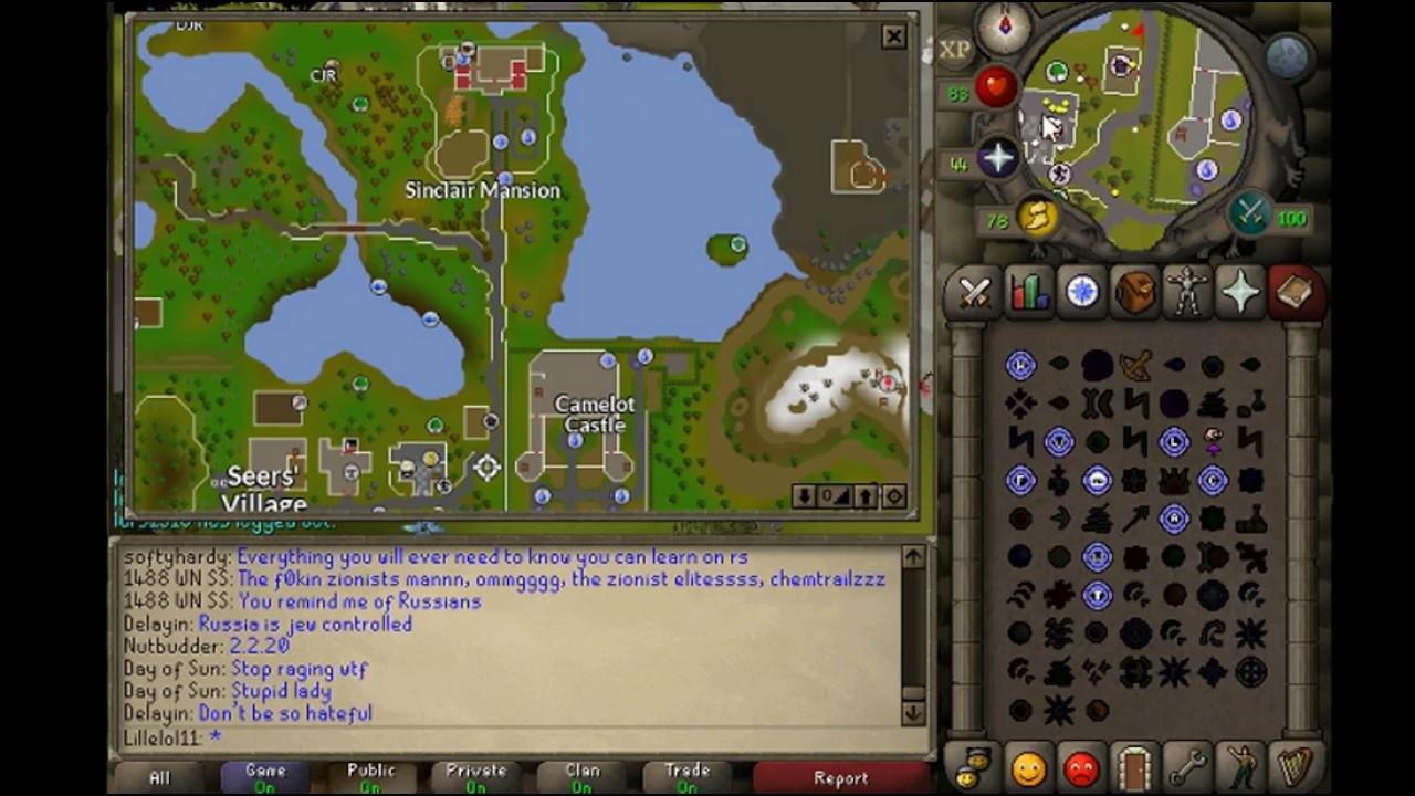 OSRS easy clue guide  Speak to the staff of sinclair mansion