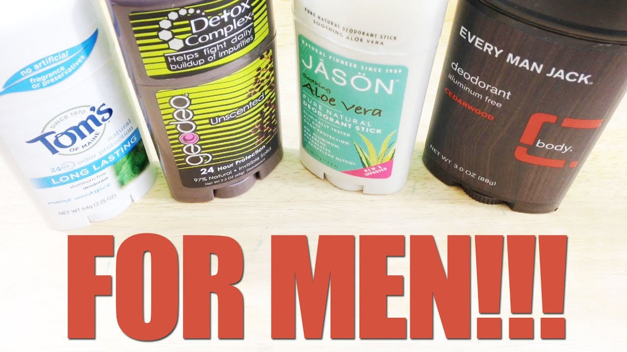 Whole Foods Natural and Organic Deodorant Review for Men - YouTube
