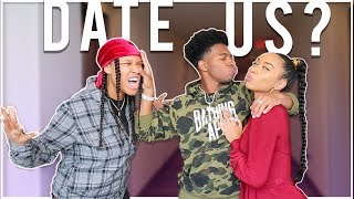Telling *Deshae Frost* We Want To Be His GIRLFRIENDS! (Gets JUICY)