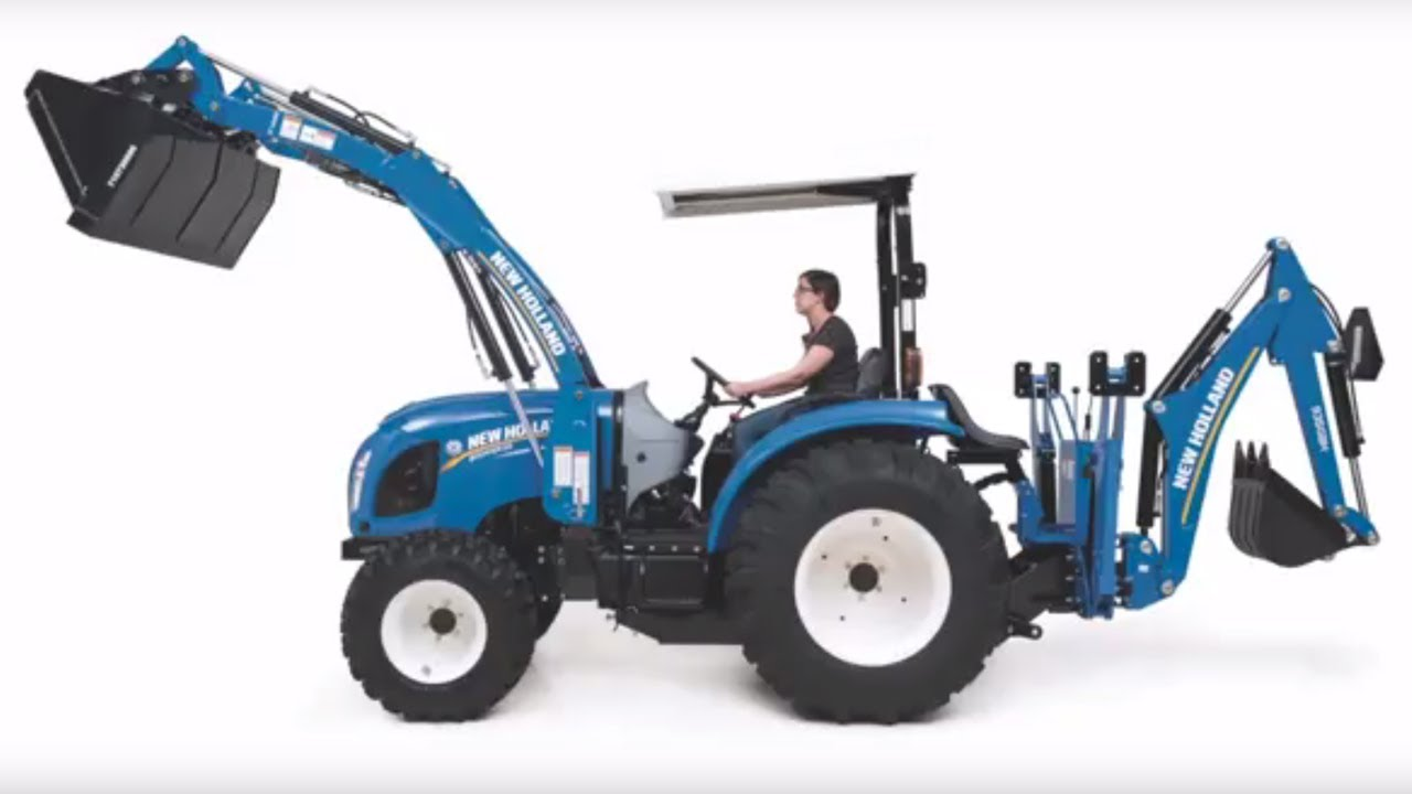 New Compact Tractor : The new holland boomer series of compact tractors youtube