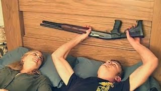Sleep securely with the gun bed