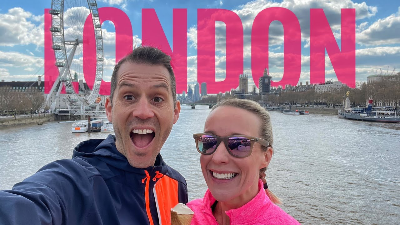 We went running around London (our own sightseeing tour)