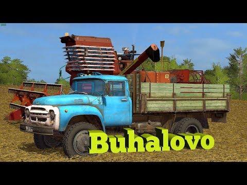 18+●Карта Buhalovo V2.5.3●Farming Simulator 17● Дела колхозные.
