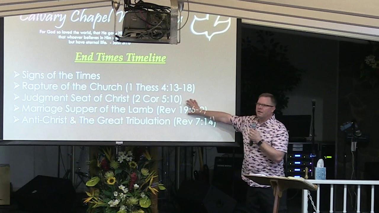 20 November 2019   CCWO's Midweek study on Eschatology Pt  2   Pastor Dan Jacobson