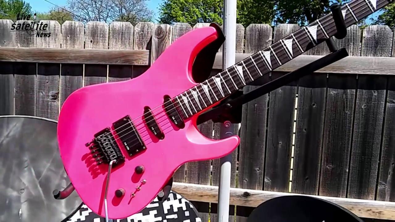 pink gtx 23 applause guitar youtube rh youtube com
