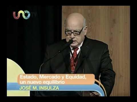 """Conferencia de José Miguel Insulza, """"Estado, mercado y equidad, un nuevo equilibrio""""."""