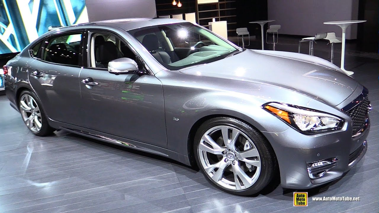 2017 infiniti q70l exterior and interior walkaround 2016 la auto show youtube. Black Bedroom Furniture Sets. Home Design Ideas