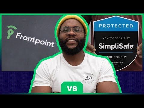 Frontpoint Vs  SimpliSafe Security System Review