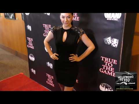 Annika Noelle at the True To The Game at the DGA Theatre in West Hollywood