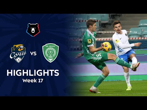 Sochi Akhmat Grozny Goals And Highlights