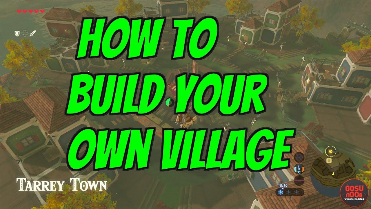 Botw Build A House