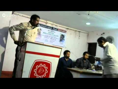 Hangout 1:- Ravichandran Vs Navas Jane Live (God's existence; in rational and Islamic reasoning)